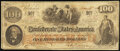 Confederate Notes:1862 Issues, T41 $100 1862 PF-7 Cr. 317 Very Good-Fine.. ...