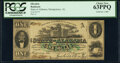 Obsoletes By State:Alabama, Montgomery, AL- State of Alabama $1 Jan. 1, 1863 Cr. 1, Two Consecutive Examples PCGS Choice New 63PPQ.. ... (Total: 2 notes)
