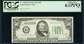 Fr. 2105-D $50 1934C Federal Reserve Note. PCGS Choice New 63PPQ