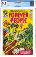Bronze Age (1970-1979):Science Fiction, The Forever People #7 (DC, 1972) CGC NM/MT 9.8 White pages....