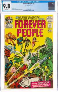 The Forever People #7 (DC, 1972) CGC NM/MT 9.8 White pages