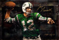 """Football Collectibles:Others, 2006 """"Joe Namath"""" Signed Limited Edition (HC) Giclee On Canvas by Stephen Holland...."""