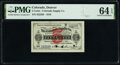 Obsoletes By State:Colorado, Denver, CO- Colorado Supply Co. 5¢ Oct. 1, 1910 PMG Choice Uncirculated 64 EPQ, POCs.. ...