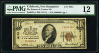 Colebrook, NH - $10 1929 Ty. 1 The Farmers & Traders National Bank Ch. # 5183 PMG Fine 12