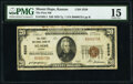 National Bank Notes:Kansas, Mount Hope, KS - $20 1929 Ty. 1 The First National Bank Ch. # 5559 PMG Choice Fine 15.. ...