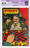 Dynamic Comics #12 (Chesler, 1944) CGC Apparent VG+ Slight (C-1) 4.5 Off-white to white pages