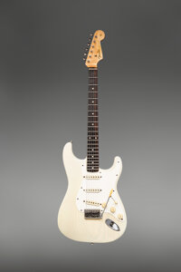 1960 Fender Stratocaster Blonde Solid Body Electric Guitar, Serial #42685