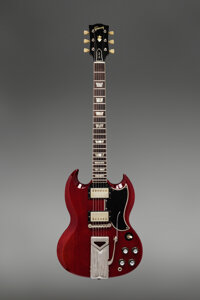 1961 Gibson Les Paul SG Cherry Solid Body Electric Guitar, Serial #41773