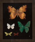 Carvings, Richard Blow (American, 1904-1983). Untitled (Five Butterflies), circa 1970. Hardstone . 8 x 6-3/4 inches (20.3 x 17.1 c...