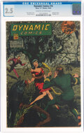 Golden Age (1938-1955):Superhero, Dynamic Comics #16 (Chesler, 1945) CGC GD+ 2.5 Cream to off-white pages....