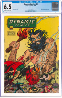 Dynamic Comics #20 (Chesler, 1946) CGC FN+ 6.5 Off-white to white pages