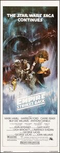 """Movie Posters:Science Fiction, The Empire Strikes Back (20th Century Fox, 1980). Rolled, Very Fine+. Insert (14"""" X 36"""") Roger Kastel Artwork. Science Ficti..."""