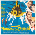 """Movie Posters:Horror, House of the Damned & Other Lot (20th Century Fox, 1963). Folded, Fine. Six Sheets (2) (78.25"""" X 79"""" & 78"""" X 78""""). Horror.. ... (Total: 2 Items)"""