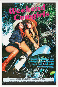 """Weekend Cowgirls & Other Lot (Caballero Control, 1982). Folded, Very Fine+. One Sheets (2) (27"""" X 41""""). Ad..."""