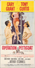 Movie Posters:Comedy, Operation Petticoat & Other Lot (Universal International, 1959). Folded, Overall: Fine/Very Fine. Three Sheets (2) (Approx. ... (Total: 2 Items)