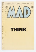 MAD #23 (EC, 1955) Condition: VG/FN