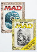 Magazines:Mad, MAD #25 and 26 Magazine Group (EC, 1955) Condition: Average FN+.... (Total: 2 )
