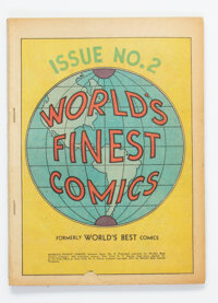 World's Finest Comics #2 (DC, 1941) Condition: Coverless