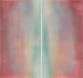 Works on Paper, Prudencio Irazabal (Spanish, b. 1954). Untitled Diptych 5A7, 2000. Acrylic on pane, laid on canvas. ...