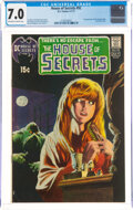 Bronze Age (1970-1979):Horror, House of Secrets #92 (DC, 1971) CGC FN/VF 7.0 Off-white to white pages....