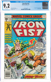 Iron Fist #14 (Marvel, 1977) CGC NM- 9.2 White pages