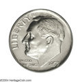 Proof Roosevelt Dimes: , 1953 10C PR68 Cameo PCGS. Even though 128,800 proofs were ...