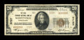National Bank Notes:Pennsylvania, Marienville, PA - $20 1929 Ty. 2 The Gold Standard NB Ch. # 5727. ...