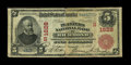 National Bank Notes:Virginia, Richmond, VA - $5 1902 Red Seal Fr. 587 The Planters NB Ch. #(S)1628. ...