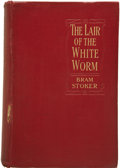 Books:First Editions, Bram Stoker. The Lair of the White Worm....