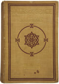 Books:First Editions, H. G. Wells. Tales of Space and Time....