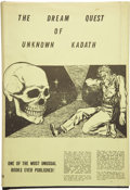 Books:First Editions, H. P. Lovecraft. The Dream Quest of Unknown Kadath. Buffalo:Shroud Publishers, 1955....