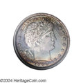 Proof Barber Quarters: , 1900 25C PR66 NGC. Both sides of this nearly flawless ...