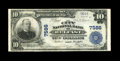 National Bank Notes:Maine, Belfast, ME - $10 1902 Plain Back Fr. 624 The City NB Ch. # 7586....