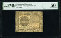 Continental Currency February 26, 1777 $7 PMG About Uncirculated 50