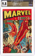 Golden Age (1938-1955):Superhero, Marvel Mystery Comics #70 The Promise Collection Pedigree (Timely, 1946) CGC NM/MT 9.8 Off-white to white pages....