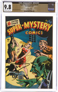 Golden Age (1938-1955):Superhero, Super-Mystery Comics V6#1 The Promise Collection Pedigree (Ace, 1946) CGC NM/MT 9.8 Off-white to white pages....
