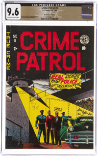 Crime Patrol #8 The Promise Collection Pedigree (EC, 1948) CGC NM+ 9.6 Off-white to white pages