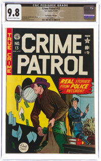 Crime Patrol #13 The Promise Collection Pedigree (EC, 1949) CGC NM/MT 9.8 Off-white to white pages