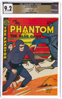 Feature Books #57 The Phantom - The Promise Collection Pedigree (David McKay Publications, 1948) CGC NM- 9.2 Off-white t...