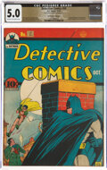 Golden Age (1938-1955):Superhero, Detective Comics #44 The Promise Collection Pedigree (DC, 1940) CGC VG/FN 5.0 Cream to off-white pages....
