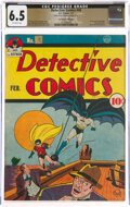 Golden Age (1938-1955):Superhero, Detective Comics #48 The Promise Collection Pedigree (DC, 1941) CGC FN+ 6.5 Off-white pages....