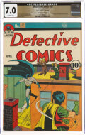 Golden Age (1938-1955):Superhero, Detective Comics #50 The Promise Collection Pedigree (DC, 1941) CGC FN/VF 7.0 Off-white pages....