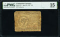 Colonial Notes:Continental Congress Issues, Continental Currency April 11, 1778 $8 PMG Choice Fine 15.. ...