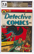 Golden Age (1938-1955):Superhero, Detective Comics #45 The Promise Collection Pedigree (DC, 1940) CGC FN/VF 7.0 Off-white to white pages....