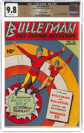 Golden Age (1938-1955):Superhero, Bulletman #15 The Promise Collection Pedigree (Fawcett Publications, 1946) CGC NM/MT 9.8 White pages....