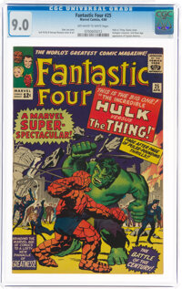 Fantastic Four #25 (Marvel, 1964) CGC VF/NM 9.0 Off-white to white pages