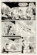 Original Comic Art:Story Page, Curt Swan and Murphy Anderson Superman #269 Story Page 4 Original Art (DC, 1973). ...