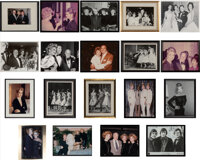 Unknown Artist (20th Century) Group of 19 Photographs of the McGuire Sisters Dye coupler, gelatin si