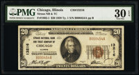 Chicago, IL - $20 1929 Ty. 1 Straus National Bank & Trust Company Ch. # 13216 PMG Very Fine 30 EPQ