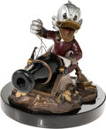 """Memorabilia:Miscellaneous, """"Who's Out There?"""" Scrooge McDuck Limited Edition Bronze Statue #2/131 (Walt Disney, 1998)...."""